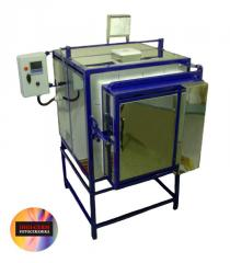 Muffle furnaces for ceramics, porcelain baking