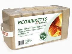 Brykiet drzewny do pieca, kominka Ecobriketts
