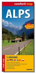 Alps laminowana mapa samochodowa 1:650 000