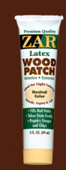 Putties for woods