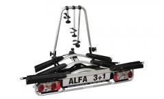 Bagażnik Alfa na 4 rowery