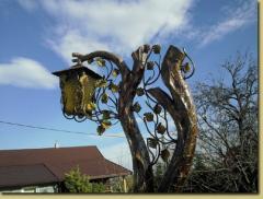 Lampa ogrodowa Drzewo