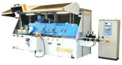Equipment for parquet production