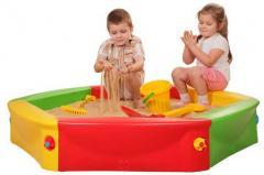 ארגזי חול לילדים