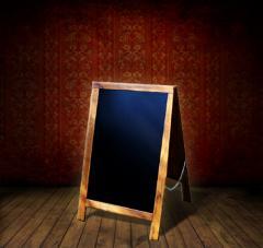 Potykacz dwustronny klasyczny 56 cm x 90 cm