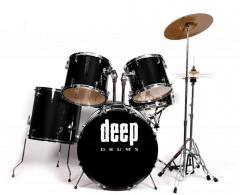 Zestaw Deep Drums DP105 BK