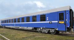 Passenger sleeping railroad cars