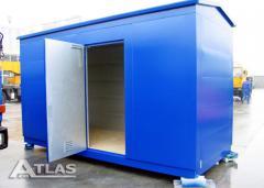 Metalowe kontenery izolowane akustycznie