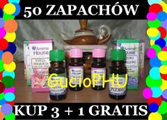 Olejki zapachowe eteryczne Aroma House KUP3+1DARMO