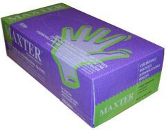 Rękawice diagnostyczne lateksowe Maxteroferowane