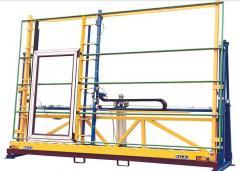 Equipment for treating of sheet glass