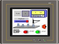 Panele operatorskie MT035, MT058, MT080, MT104