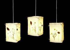 Lampa wisząca - maki i rumianki - WM3-7
