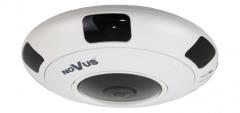 """Kamera IP wandaloodporna z obiektywem """"rybie oko"""""""