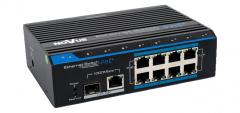 Przełącznik 8-portowy PoE+ NV-108S/P+