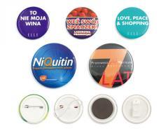 Znaczki okolicznościowe, button, badges