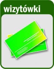 Wizytówki jednostronne - druk cyfrowy - 96szt