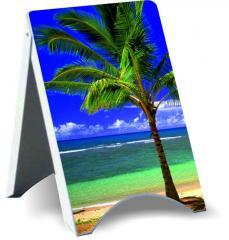 Potykacz reklamowy Blacha Ocynkowana 120 x 70 cm