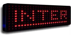 Wyświetlacz LED tablica LED panel 25cm x 100cm