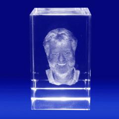 Laser 3D do grawerowania w szkle o powierzchni