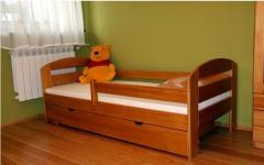 Łóżko dziecięce Kami 180x80 z materacem i szufladą