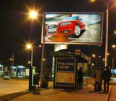 Reklamy podświetlane Backlight