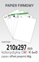 Papier firmowy (PRT-PAP-FIRM-A4)
