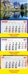 Kalendarz trójdzielny Standard (PRT-KAL-TROJ-STD)