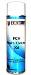 FCH – Brake Cleaner X6  Spray