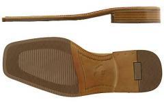 Elementy obuwnicze skórzane