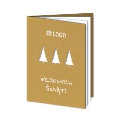 Kartka świąteczna (Boże Narodzenie) - wzór 1