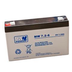 Akumulatory VRLA MW 7.2-6