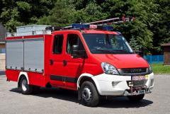 Lekki samochód ratowniczo-gaśniczy Iveco Daily