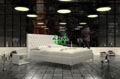 Łóżko tapicerowane ANCONA - 180 x 200 cm -