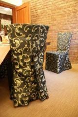 Narzuty na krzesła - pokrowce