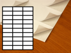 Etykiety A4/30 (70x29,7)
