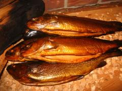 Hot smoked fish