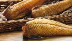 Cold smoked fish