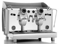 Professional two-operator coffee machines
