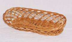 Wiklinowe koszyczki na chleb