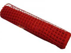 Siatka bawełniana 50cm x 5 metrów czerwona
