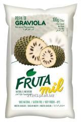 Graviola, Guanabana, Flaszowiec miąższ (puree