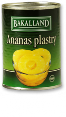 Ananas Kawałki Bakalland 3035g