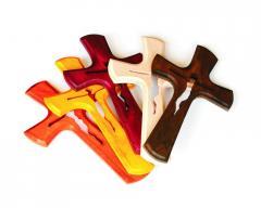 Krzyże z drewna