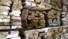 Timber of dry leaves, birch, alder, linden