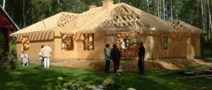 Więźba dachowa dla sufitu