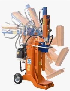 Wood splitters, cutters, and chippers
