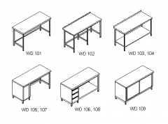 Stainless steel furniture