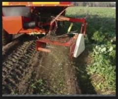 Machines for harvesting of vegetables