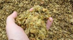 Crushers of biomass